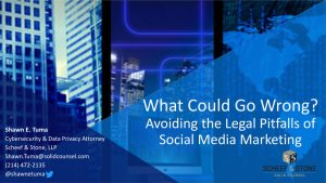What Could Go Wrong - Social Media Law