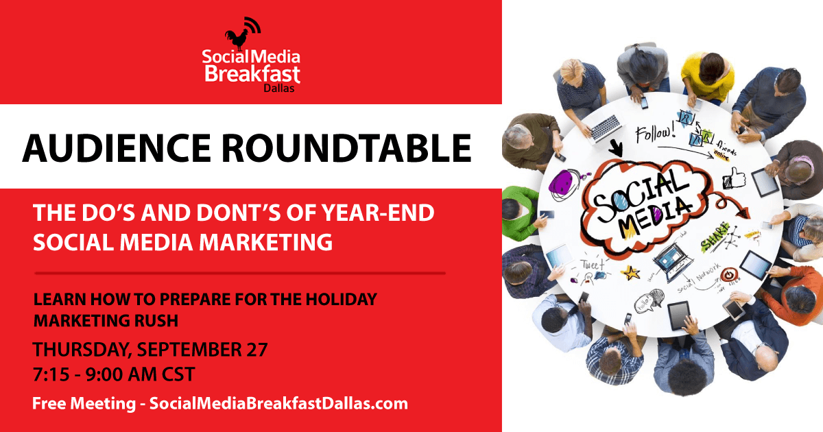 The Do's And Dont's Of Year-End Social Media Marketing - September