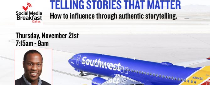Social Media Derek Hubbard Southwest Airlines Dallas