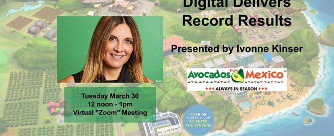 Dallas Digital Marketers - Avocados from Mexico - 7 Billion